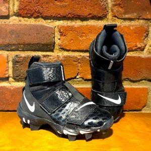 Nike Kids' Force Shark 2 Mid Football Cleats